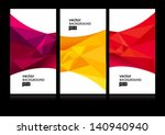 abstract background set eps10 | Shutterstock .eps vector #140940940