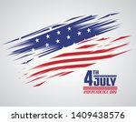 usa independence day july... | Shutterstock .eps vector #1409438576