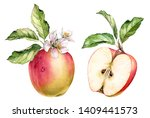Realistic Botanical Watercolor...