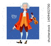 Little Wolfgang Amadeus Mozart...