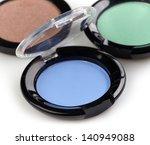 eye shadows in white background   Shutterstock . vector #140949088