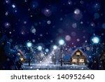 Vector Of Winter Landscape....