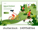 vector illustration   bicycle... | Shutterstock .eps vector #1409568566