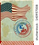 4th of july  american... | Shutterstock .eps vector #140957008