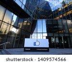 28th january 2019  dublin ... | Shutterstock . vector #1409574566