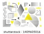 universal trend halftone... | Shutterstock .eps vector #1409605016