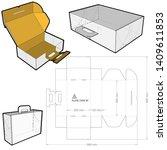 Vector Images Illustrations And Cliparts Die Set Cake Box Hqvectors Com