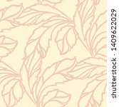 seamless pattern designed with... | Shutterstock . vector #1409622029