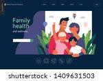 medical insurance template ...   Shutterstock .eps vector #1409631503