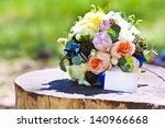 wedding accessories | Shutterstock . vector #140966668