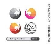 eagle logo template  colorful ...