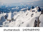 Aviation Above Mountains Of...