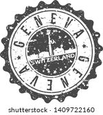 geneva switzerland. city...   Shutterstock .eps vector #1409722160
