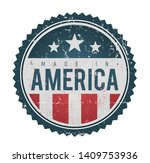 made in usa vintage badge seal  ... | Shutterstock .eps vector #1409753936