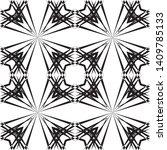 geometric seamless pattern ... | Shutterstock .eps vector #1409785133