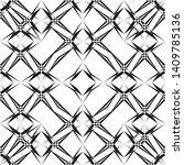 geometric seamless pattern ... | Shutterstock .eps vector #1409785136