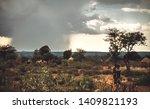 omo valley  ethiopia   november ...   Shutterstock . vector #1409821193