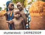 omo valley  ethiopia   november ...   Shutterstock . vector #1409825039