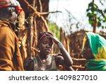 omo valley  ethiopia   november ...   Shutterstock . vector #1409827010