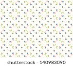 vector floral background ... | Shutterstock .eps vector #140983090