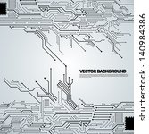 circuit board background texture | Shutterstock .eps vector #140984386