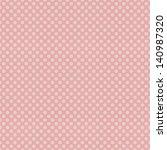 Seamless Pink Polka Dots Patten ...
