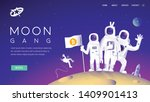 group of cryptocurrency... | Shutterstock .eps vector #1409901413