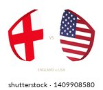 england v usa  icon for rugby... | Shutterstock .eps vector #1409908580