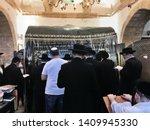 Jews Praying At Rachel\'s Tomb...