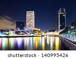 singapore skyline | Shutterstock . vector #140995426