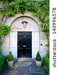 front door | Shutterstock . vector #140996578