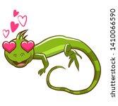 Iguana Vector Graphic Clipart...
