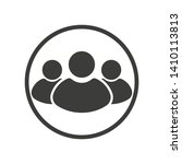 group people  person icon.... | Shutterstock .eps vector #1410113813