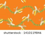 banana illustration  total... | Shutterstock .eps vector #1410119846
