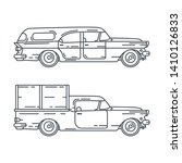 line vector icon set american...   Shutterstock .eps vector #1410126833