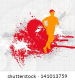 sport illustration | Shutterstock . vector #141013759