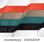 template for your business... | Shutterstock .eps vector #141016519