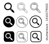magnifying glass sign  search...   Shutterstock .eps vector #1410179033