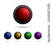 modern set of round shaped...