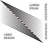 abstract diagonal halftone... | Shutterstock .eps vector #1410196946