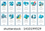 international business vector ... | Shutterstock .eps vector #1410199529