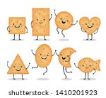 Cute Smiling Cracker Chips...