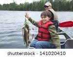 A Young Caucasian Fisherman...