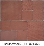 seamless texture of red stones | Shutterstock . vector #141021568
