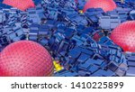 abstract futuristic three... | Shutterstock . vector #1410225899