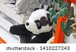 stuffed toy stuffed zoo animal... | Shutterstock . vector #1410227243