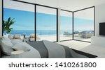 Beach Bedroom   3d Rendering