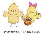 Happy Farm Animals Chicks Pair...