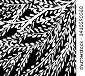 brush texture pattern. grunge... | Shutterstock .eps vector #1410290360