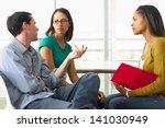 couple having relationship... | Shutterstock . vector #141030949